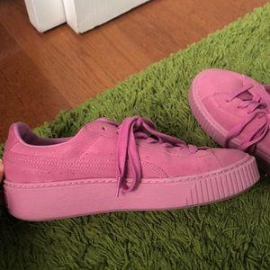 COPY - custom puma basket sneakers